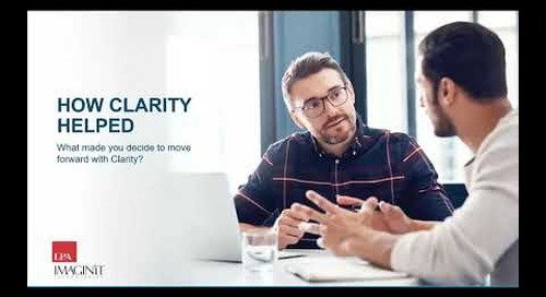LPA's Proactive Approach to Project Performance with IMAGINiT Clarity