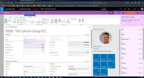 Q&A Series   How do I customize the screen in Dynamics 365 Business Central