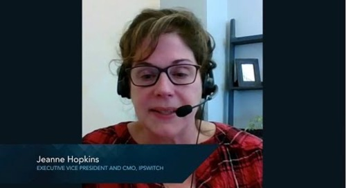 Ipswitch Customer Experience - Jeanne Hopkins, CMO