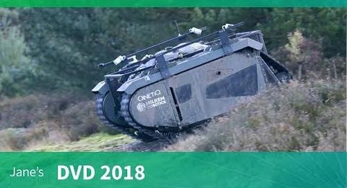 DVD 2018: QinetiQ's TITAN Unmanned Ground Vehicle (UGV)