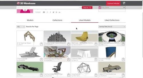 3D Warehouse: Likes