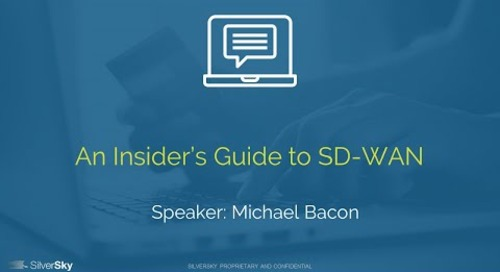 An Insider's Guide to SD-WAN