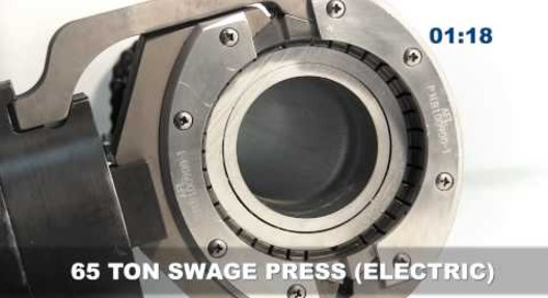 Swage Cross Section Compression Gas vs. Electric pump