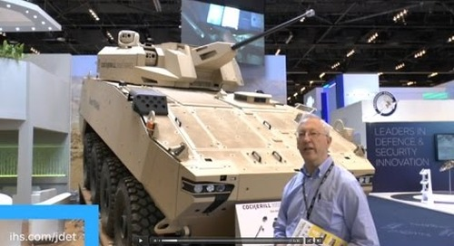 IDEX 2015 The FNSS Saber one person turret