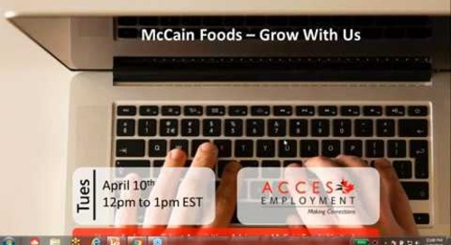 McCain Foods – Grow With Us