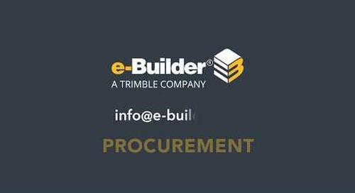 Streamlined Bidding Process - Procurement