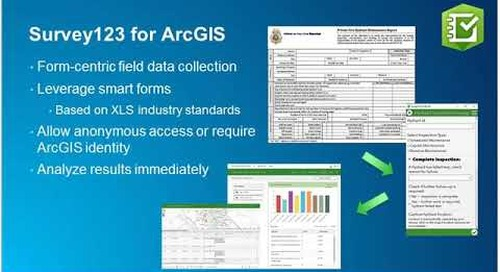 Integrated Field Workflows with ArcGIS Mobile Apps