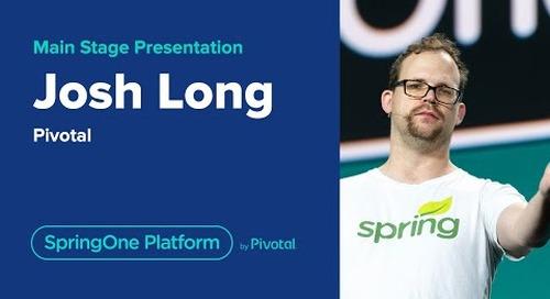Josh Long at SpringOne Platform 2019