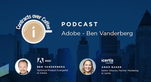 Contracts Over Coffee with Adobe and Ben Vanderberg