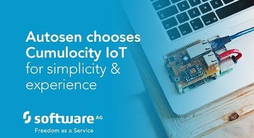 Autosen chooses Cumulocity IoT for simplicity & experience