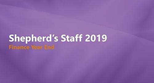 Shepherd's Staff Finance Year End Process