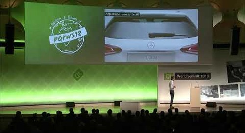 Making of Qt-Powered UI @MBUX by MBition Mercedes Benz Innovation Lab at Daimler Keynote @QtWS18