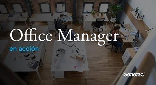 Office Manager en acción