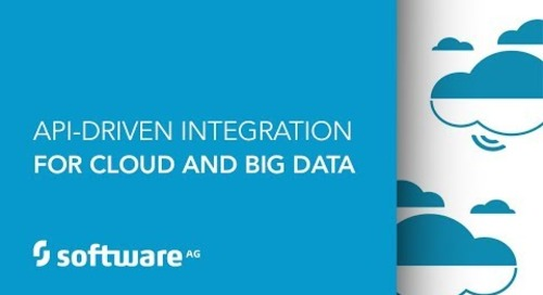 API-Driven Integration for Cloud and Big Data