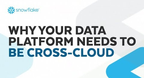 Webinar: Why Your Data Platform Needs to Be Cross-Cloud