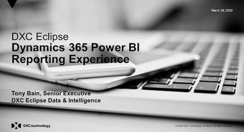 Dynamics 365 Power BI Reporting Experience