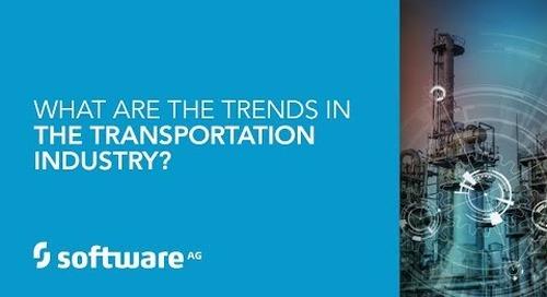 Digital transformation trends in transportation & logistics