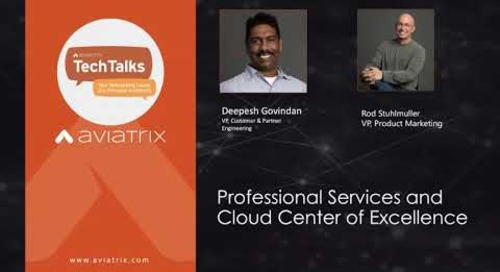 TechTalk: Need to augment your cloud team with a cloud network operations, security or automation expert?