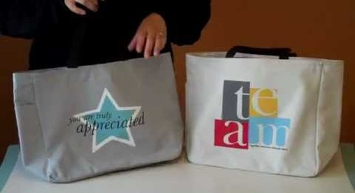 Employee Gift Tote Bags by Baudville