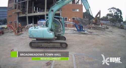 Broadmeadows Town Hall redevelopment Feb - Apr 2018