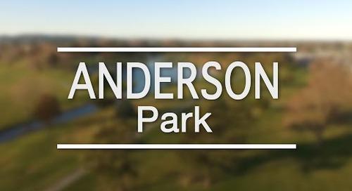 Drone Anderson Park, Napier