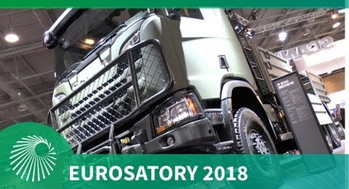 Eurosatory 2018: Scania's new generation truck