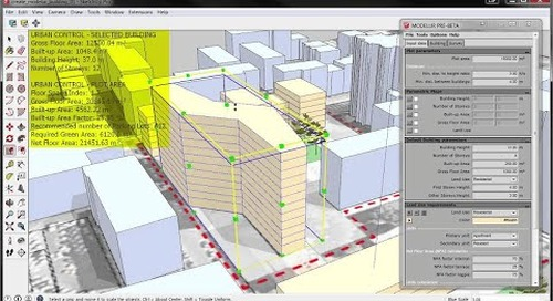 SketchUp Modelur Extension