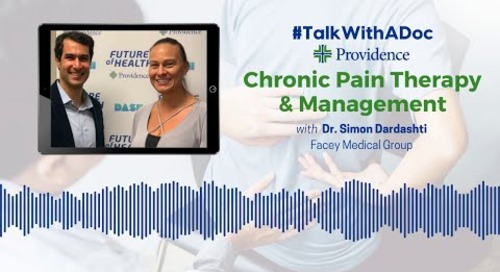 #TalkWithADoc: Chronic Pain Therapy and Management