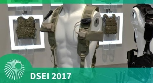 DSEI 2017: Broadsword Spine e-textile - BAE Systems