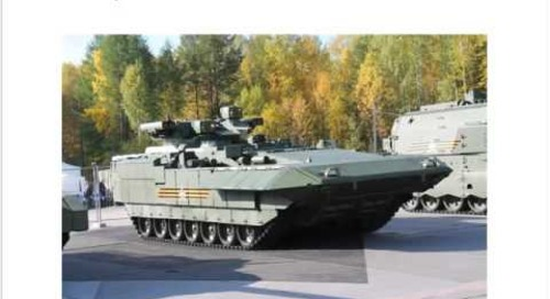 [Extract] Intelligence Briefing: Latest Russian Armoured Fighting Vehicles
