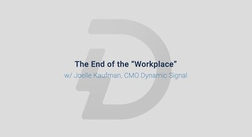 The End of the Workplace