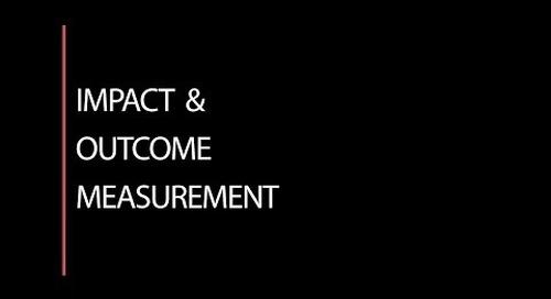 Impact & Outcome Measurement