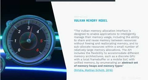 Moving to Vulkan in Qt for Automotive - Pros & Cons, Siili {Qt Virtual Tech Con 2020}