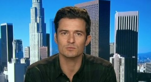 Actor Orlando Bloom visits Ukraine for UNICEF