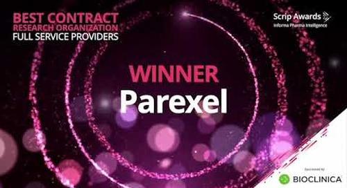 Parexel BioClinica award video