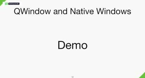 QtWS16- Qt on macOS Updates, Morten Sørvig, The Qt Company