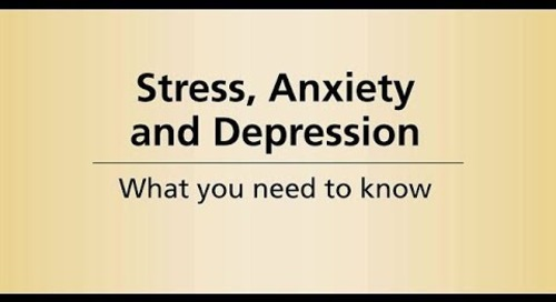 Beyond Cancer Treatment - Stress, anxiety and depression