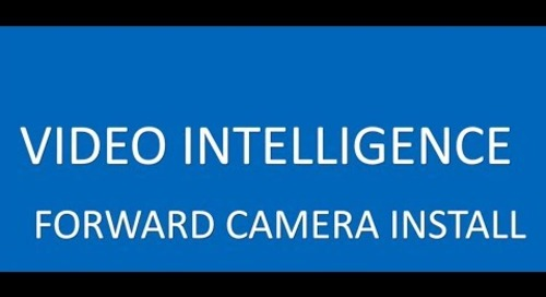 Forward Facing Camera Install