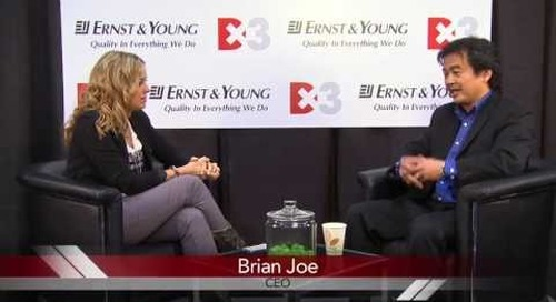 Amber Mac interviews Brian Joe, the CEO of Apption