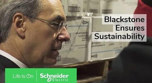 IoT EcoStruxure™ at Blackstone Ensures Sustainability