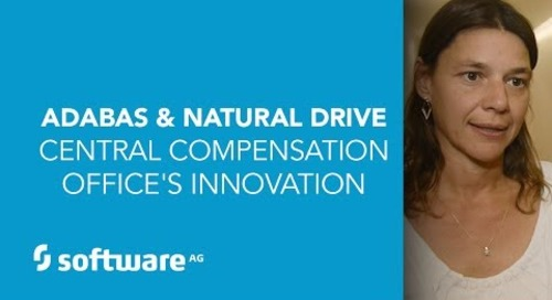 Adabas & Natural Drive Central Compensation Office's Innovation