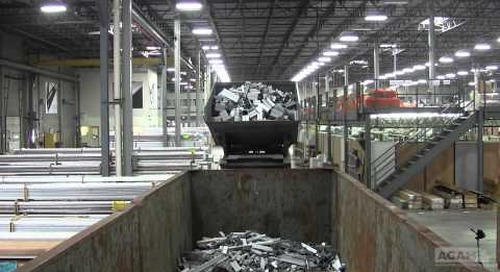 Extrusion Recycling Roll-off