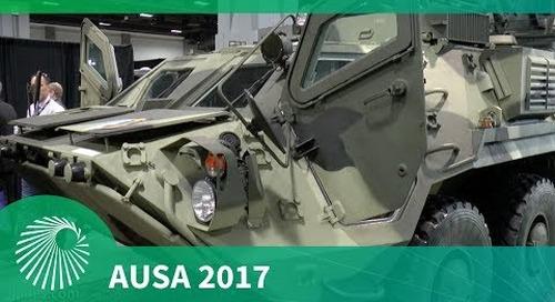 AUSA 2017: BTR 4E Armoured Personnel Carrier