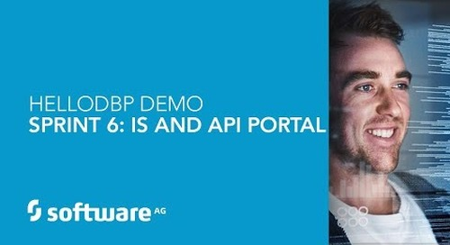 Hello DBP – Sprint 6- IS & API Portal