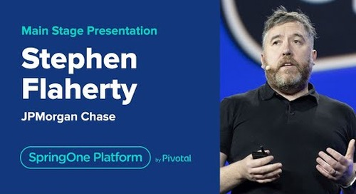 Stephen Flaherty at SpringOne Platform 2019