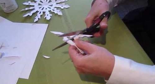 Craft idea: Paper Snowflake
