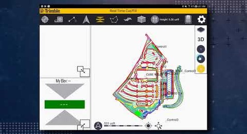 Trimble SitePulse: Map Display