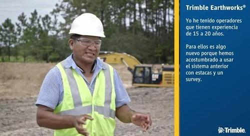 El contratista utiliza tecnología Trimble para el proyecto de vivienda Florida