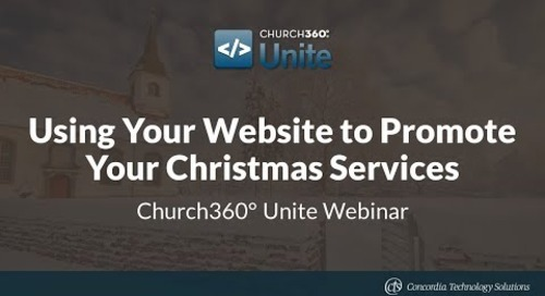 Using Your Website to Promote Your Christmas Services