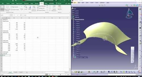 Creating Points using Excel in CATIA V5